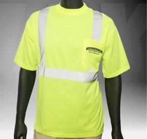 ANSI Class 2 Short Sleeve Safety Green T-Shirt