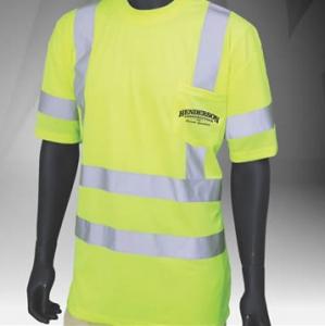 ANSI Class 3 Short Sleeve Safety Green T-Shirt