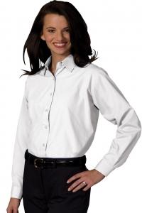 Shirt, Ladies, Long Sleeve, Oxford Broadcloth