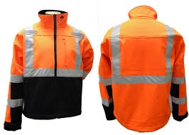 ANSI 3 Soft-Shell TPU Jacket - Safety Orange