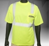 ANSI Class 2 Short Sleeve Safety Green T-Shirt