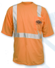 ANSI Class 2 Short Sleeve Safety Orange T-Shirt