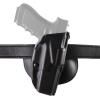 Safariland Paddle Holster - Glock 19 - STX Plain Black Finish - RH Draw